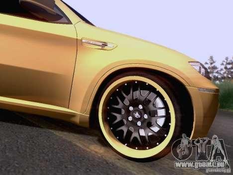 BMW X6M Hamann für GTA San Andreas Seitenansicht