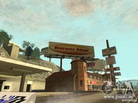 La nouvelle publicité de la mode pour GTA San Andreas deuxième écran