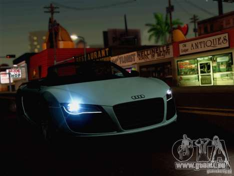 New Car Lights Effect für GTA San Andreas dritten Screenshot