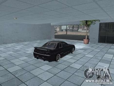 Nissan Skyline R32 Tuned pour GTA San Andreas vue arrière