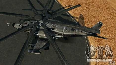 KA-50 Black Shark Modified pour GTA 4 est un droit