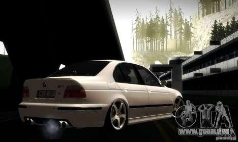 BMW M5 E39 pour GTA San Andreas salon