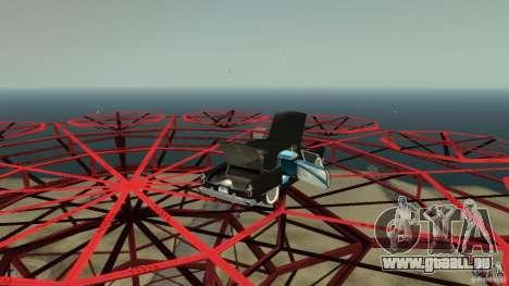Smith Thunderbolt Mafia II pour GTA 4 vue de dessus
