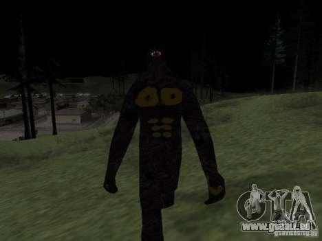 Homme de neige pour GTA San Andreas troisième écran