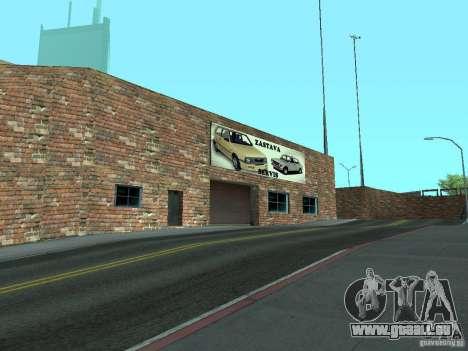 IMW Old Zastava Car Showroom pour GTA San Andreas quatrième écran
