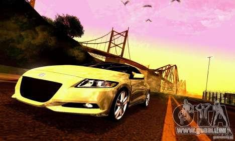 Honda CR-Z 2010 V2.0 für GTA San Andreas Motor