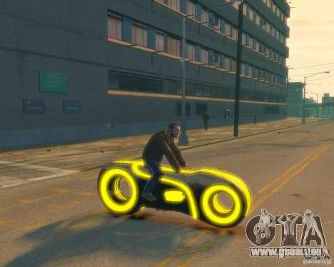 Moto du trône (néon jaune) pour GTA 4 est un droit