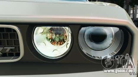 Dodge Challenger SRT8 392 2012 pour GTA 4 roues