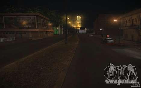 Route de HD v 2.0 finale pour GTA San Andreas troisième écran