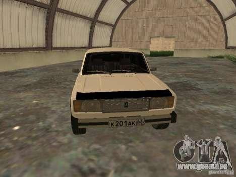 VAZ 2104 pour GTA San Andreas laissé vue