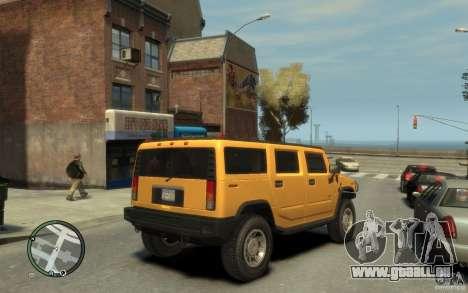 Hummer H2 pour GTA 4 est un droit