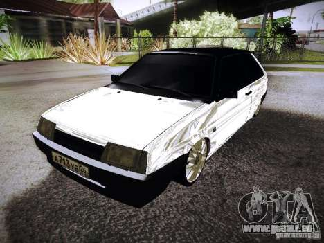 VAZ 2108 Chrome pour GTA San Andreas