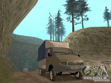 GAZ 3302 im Jahr 2001. für GTA San Andreas linke Ansicht