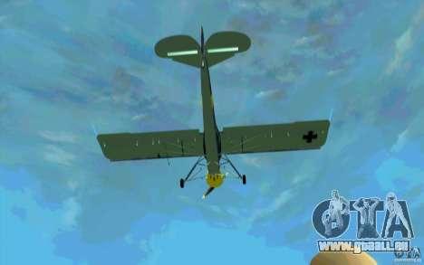 Fiesler Storch für GTA San Andreas Innenansicht