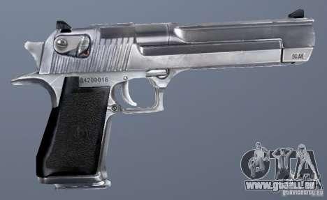 GRIMs Desert Eagle 50.AE Chrome für GTA San Andreas