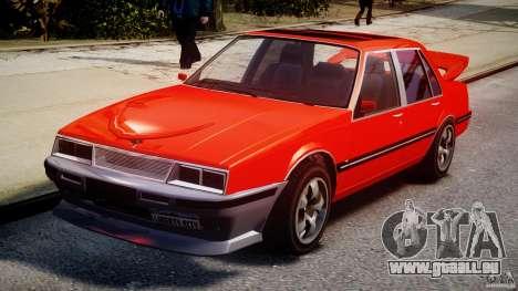 Willard DUB Edition pour GTA 4 Vue arrière