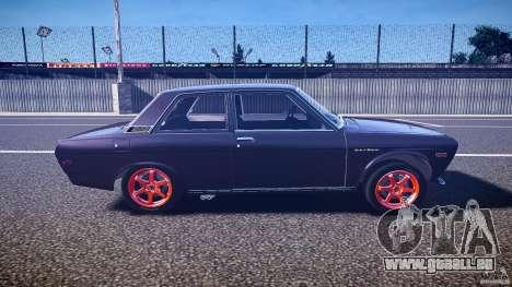 Datsun Bluebird 510 Tuned 1970 [EPM] pour GTA 4 est une vue de l'intérieur