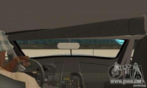 Aston Martin DBR9 (v1.0.0) pour GTA San Andreas vue de droite