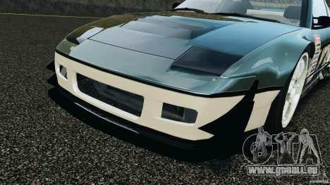 Nissan 240SX Time Attack pour GTA 4 vue de dessus