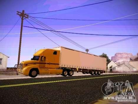 Mack Vision pour GTA San Andreas laissé vue