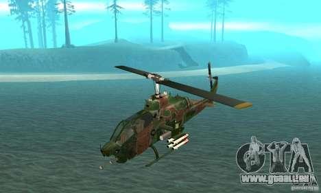 AH-1 super cobra pour GTA San Andreas