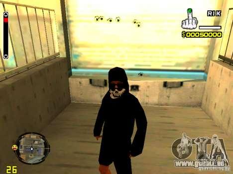 Haut Penner v7 für GTA San Andreas her Screenshot