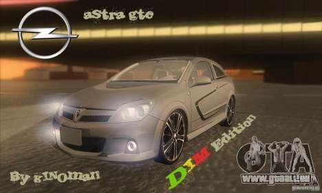 Opel Astra GTC DIM v1.0 pour GTA San Andreas