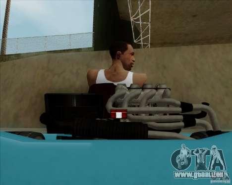 Kart pour GTA San Andreas vue intérieure