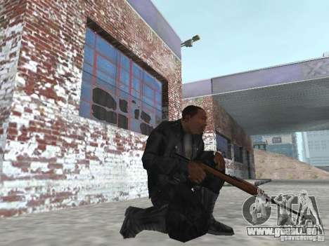 M1A1 Carbine für GTA San Andreas dritten Screenshot