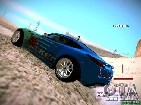 Pontiac Solstice Falken Tire pour GTA San Andreas vue arrière