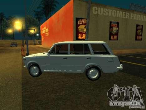 VAZ 2106 Touring für GTA San Andreas zurück linke Ansicht