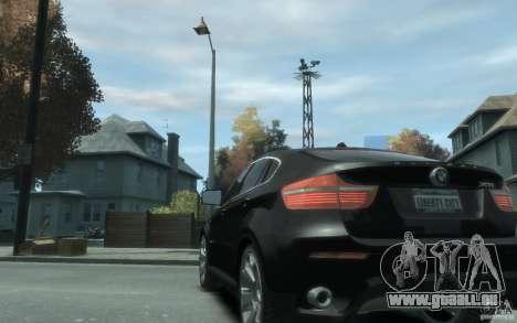 BMW X6 für GTA 4 hinten links Ansicht