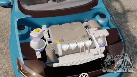 Volkswagen Voyage G6 2013 pour GTA 4 est un côté