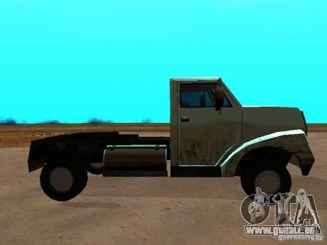 Yankee Truck pour GTA San Andreas laissé vue