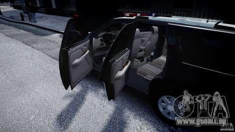 Cadillac Escalade Police V2.0 Final für GTA 4 Seitenansicht