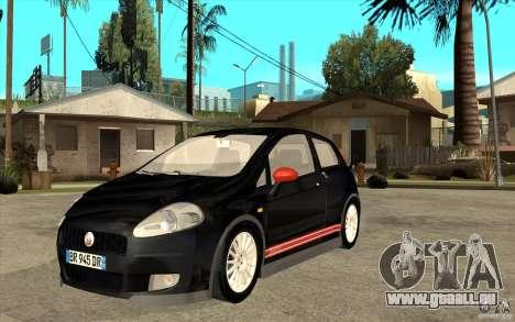Fiat Grande Punto 3.0 Abarth pour GTA San Andreas