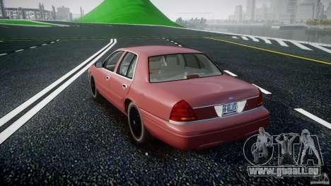 Ford Crown Victoria 2003 v.2 Civil für GTA 4 hinten links Ansicht