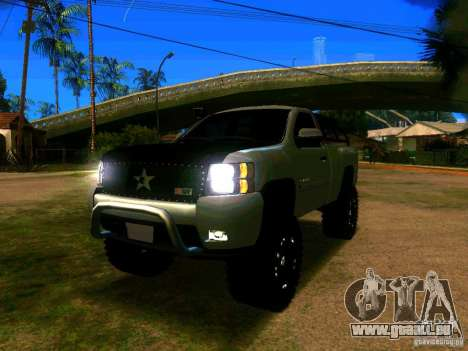 Chevrolet Silverado Final für GTA San Andreas