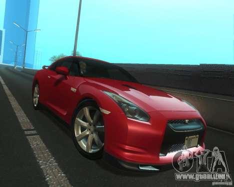 Nissan GTR R35 Spec-V 2010 Stock Wheels pour GTA San Andreas