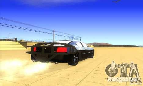 Dodge Charger From Fast Five für GTA San Andreas rechten Ansicht