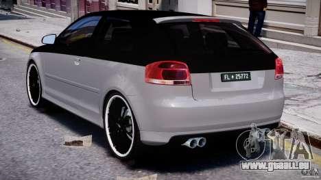 Audi S3 für GTA 4 rechte Ansicht