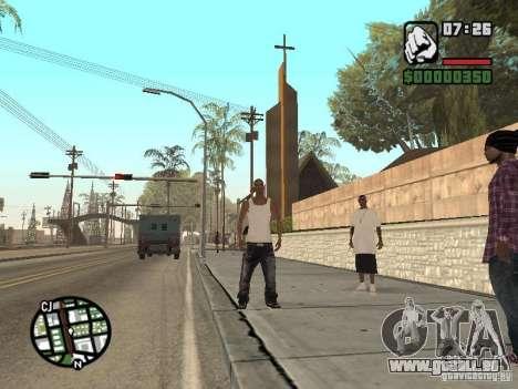 Schlafen für GTA San Andreas her Screenshot
