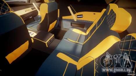 BMW M5 Lumma Tuning [BETA] pour GTA 4 est une vue de l'intérieur