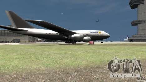 Lufthansa MOD für GTA 4 hinten links Ansicht