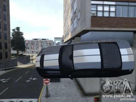 Ford Shelby GT500 2010 WIP pour GTA 4 est une vue de dessous