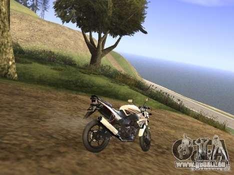 Yamaha V-Ixion pour GTA San Andreas sur la vue arrière gauche