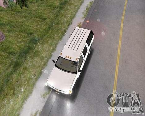 Chevrolet Suburban 1996 für GTA Vice City zurück linke Ansicht