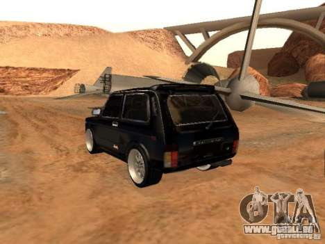 VAZ 2121 Tuning für GTA San Andreas Rückansicht