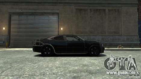 Dodge Charger Fast Five pour GTA 4 est une gauche