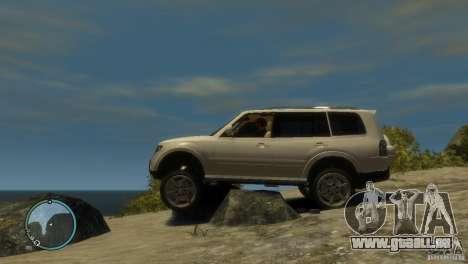 Mitsubishi Pajero Wagon für GTA 4 linke Ansicht